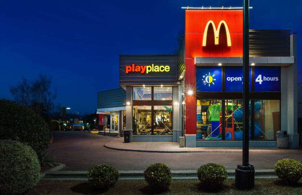 McDonald's Restaurant Building - Summit Brooke Construction